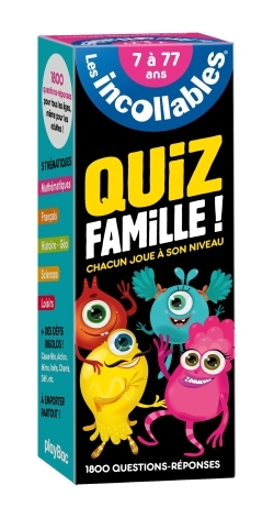EVENTAIL INCOLLABLES CLASSIQUE SPECIAL FAMILL