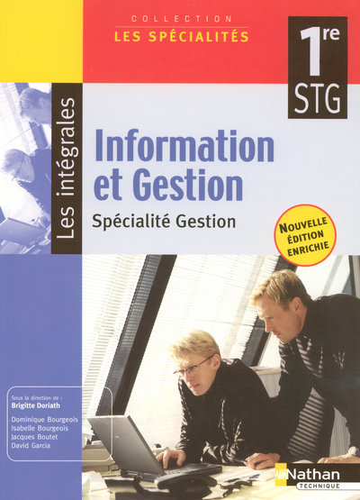 INFORM GESTION 1E STG SPEC GES