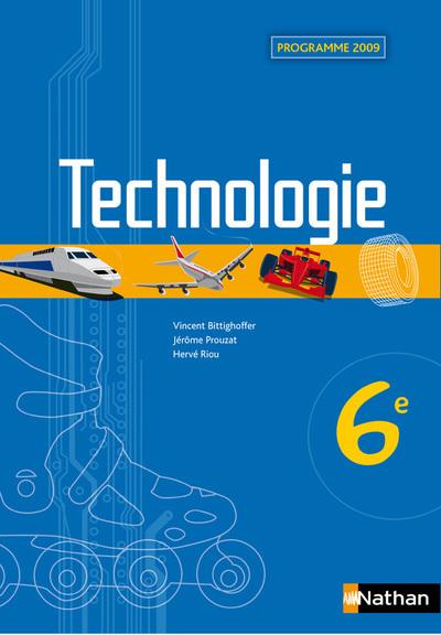 TECHNOLOGIE 6E ELEVE 2009