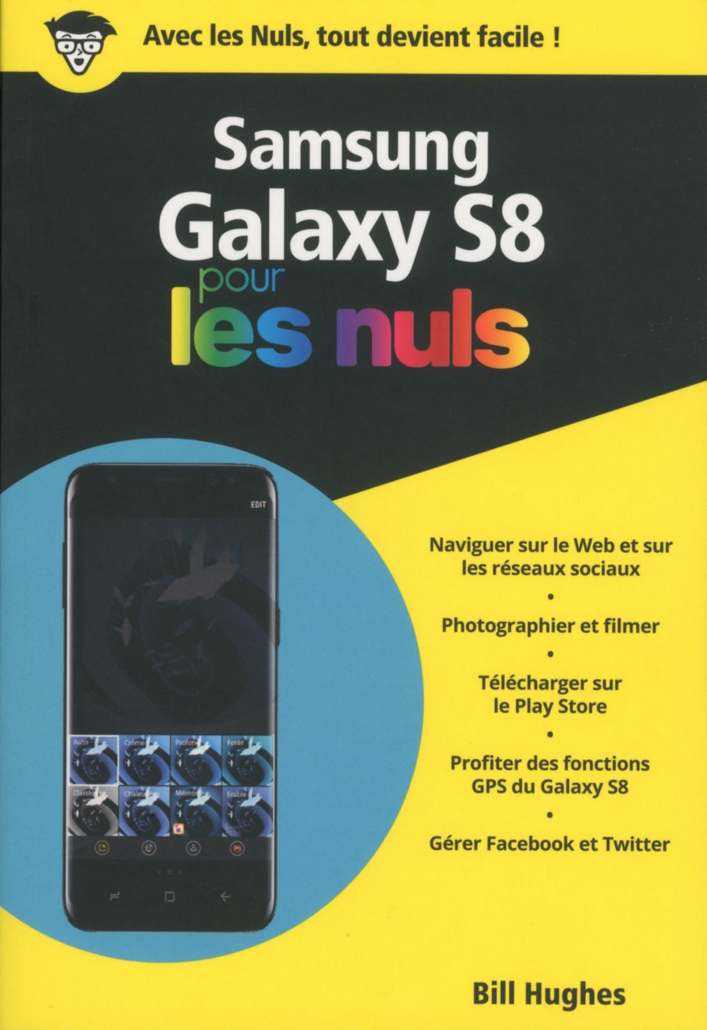 Samsung Galaxy S8 pour les Nuls poche