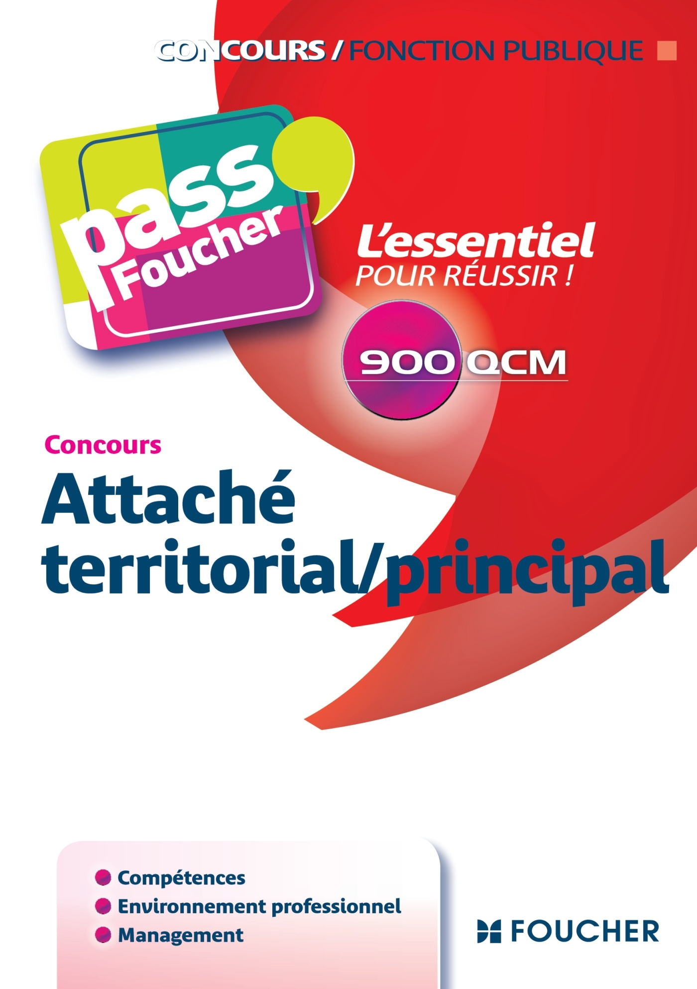 PASS'FOUCHER - ATTACHE TERRITORIAL/PRINCIPAL