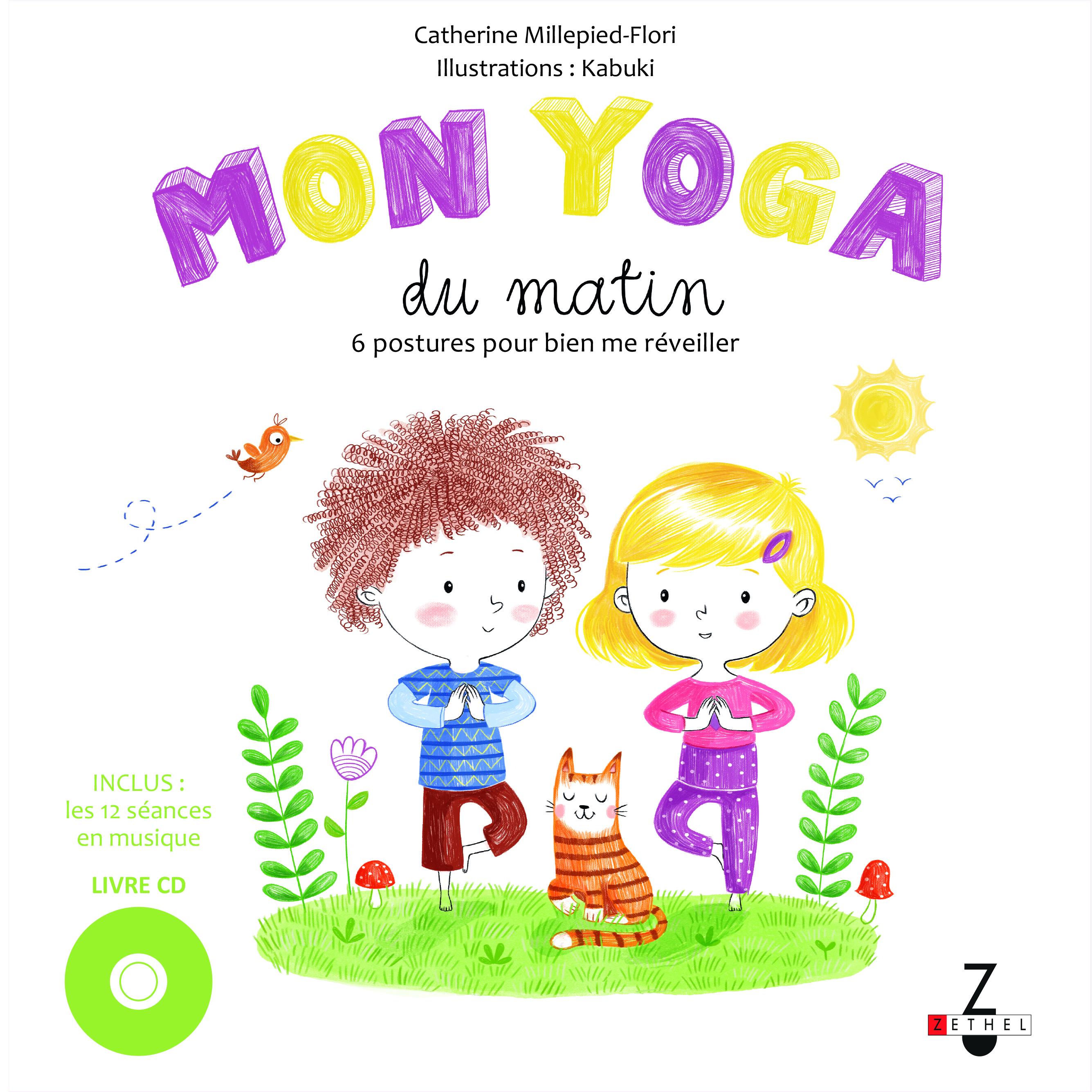 YOGA DU MATIN (MON) LIVRE AVEC CD