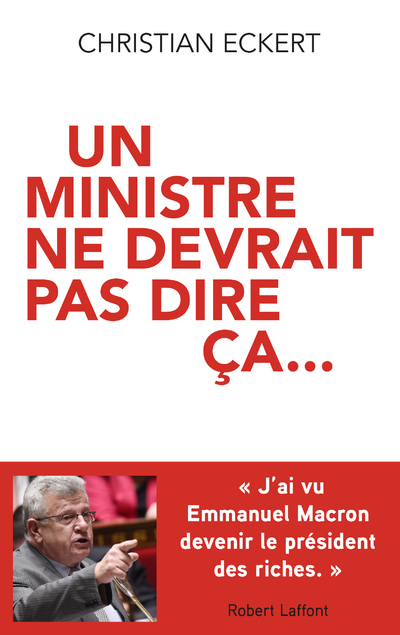 Un ministre ne devrait pas dire ça