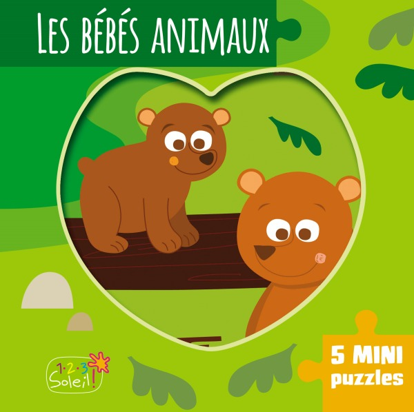LES BEBES ANIMAUX (COLL. MINI-PUZZLES)
