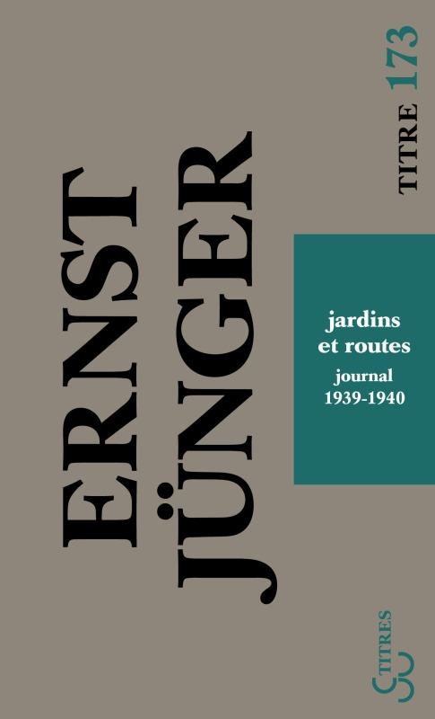 JARDINS ET ROUTES JOURNAL I 1939-1940