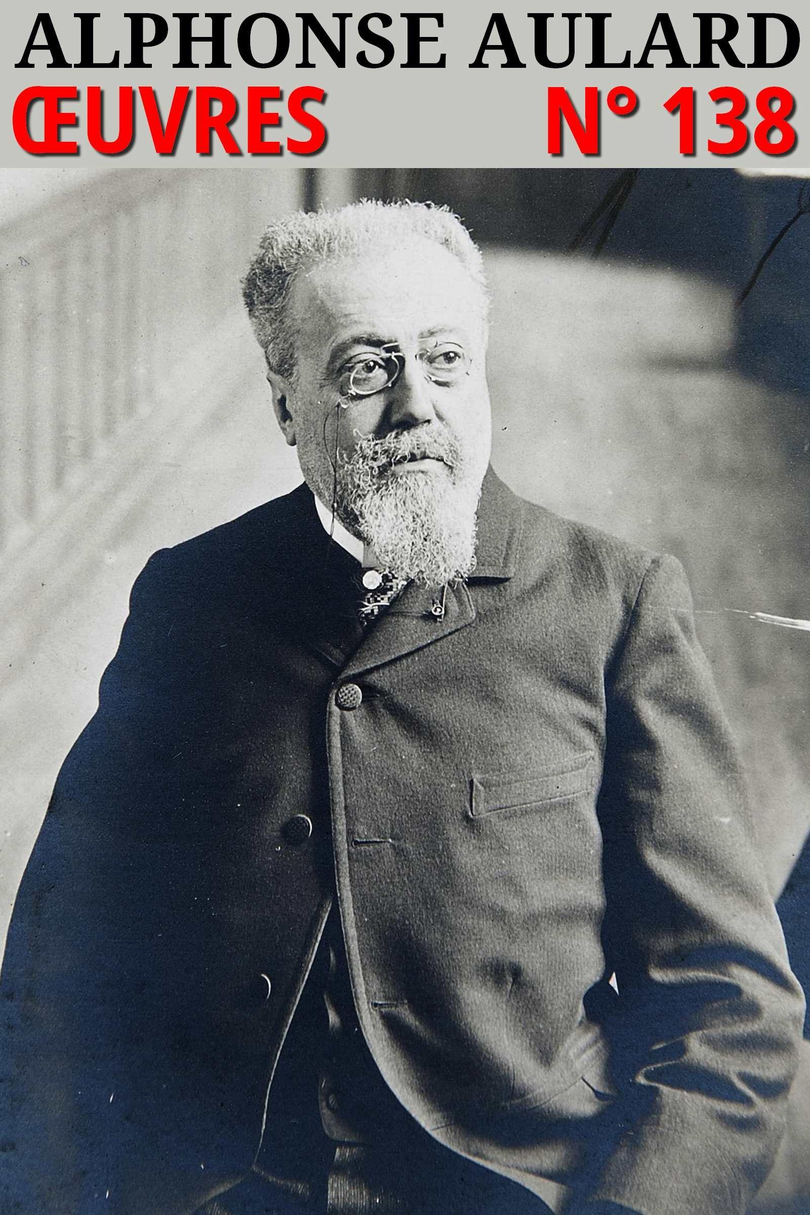 Alphonse Aulard - Oeuvres
