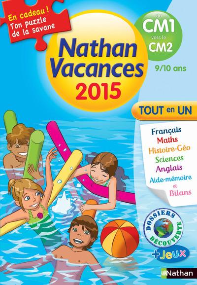 CAHIER DE VACANCES 2015 PRIMAIRE DU CM1 VERS LE CM2