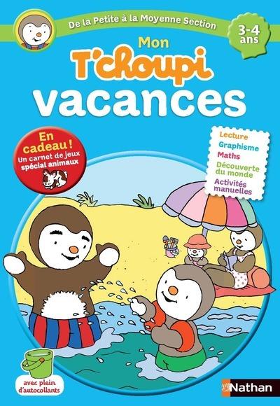 TCHOUPI VACANCES PS 3-4 ANS