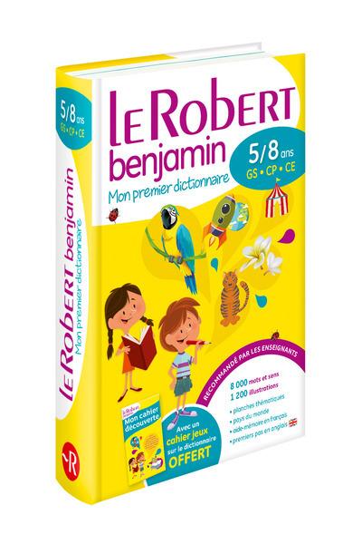 LE ROBERT BENJAMIN 5/8 ANS -GS-CP-CE-