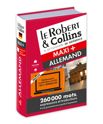 ROBERT & COLLINS MAXI + ALLEMAND + CARTE TELECHARGEMENT NC
