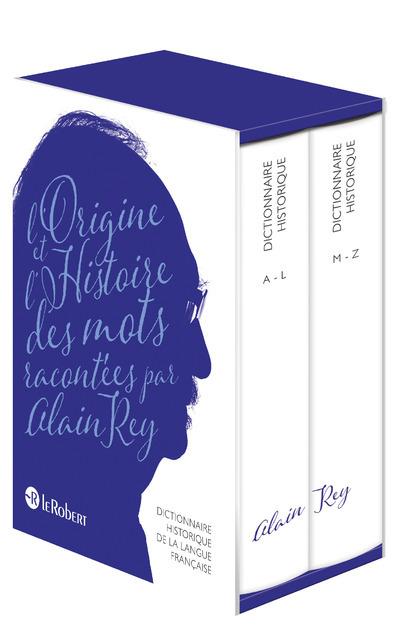 DICTIONNAIRE HISTORIQUE DE LA LANGUE FRANCAISE 2 VOLUMES - NE