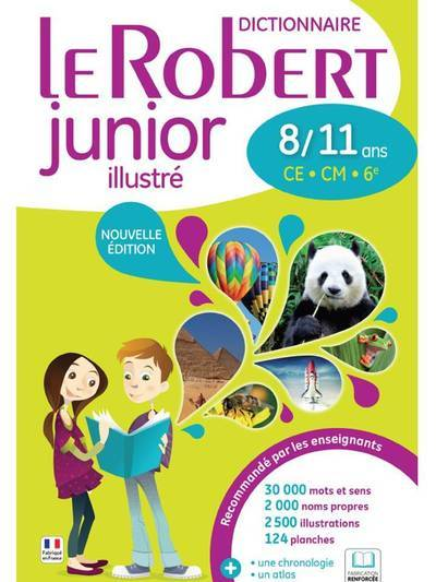 LE ROBERT JUNIOR ILLUSTRE 8/11 ANS