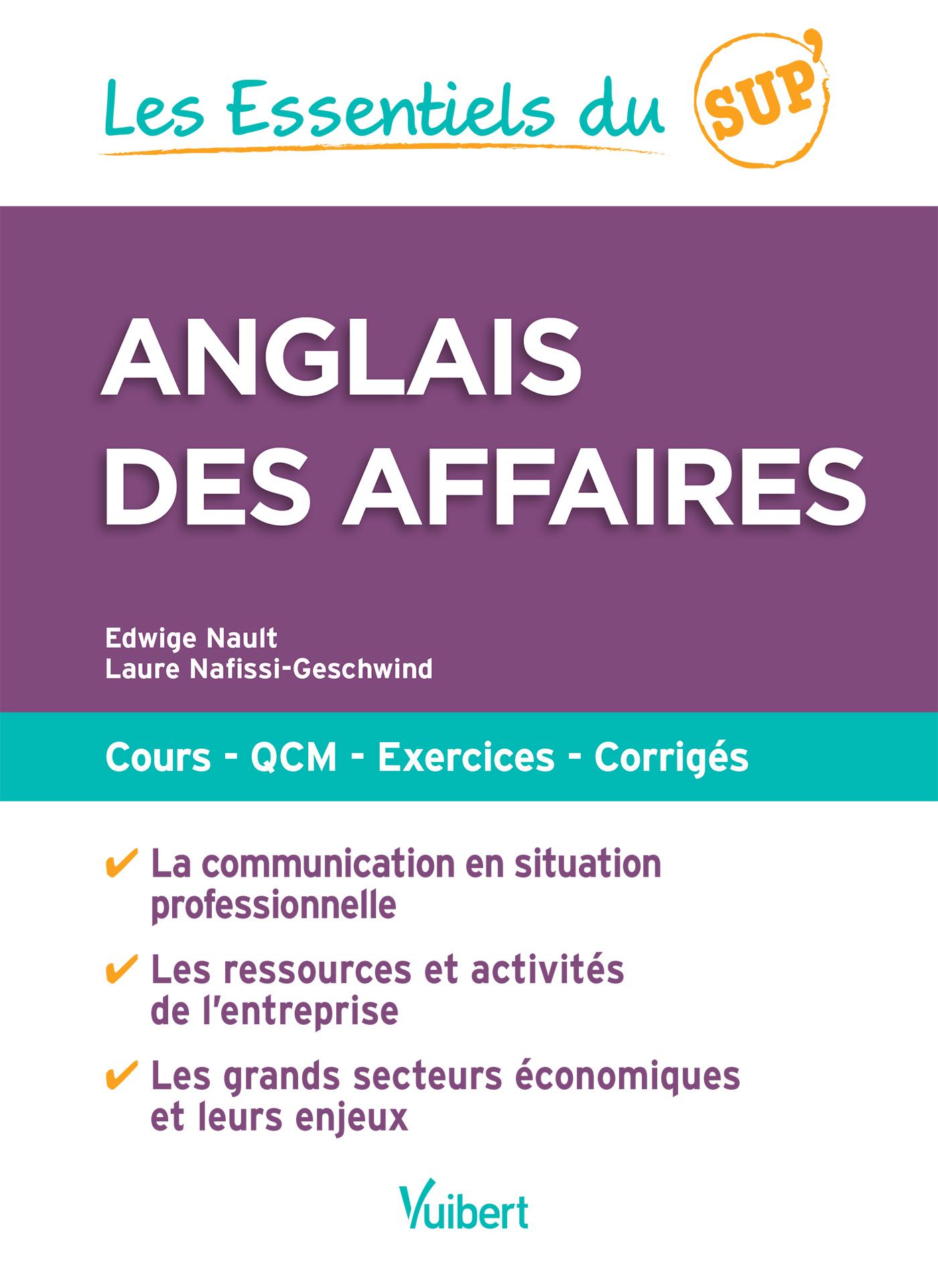 ESSENTIELS SUP ANGLAIS DES AFFAIRES (LES)