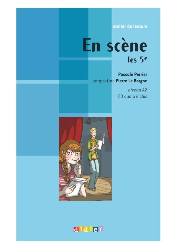 EN SCENE LES 5E - LIVRE + CD