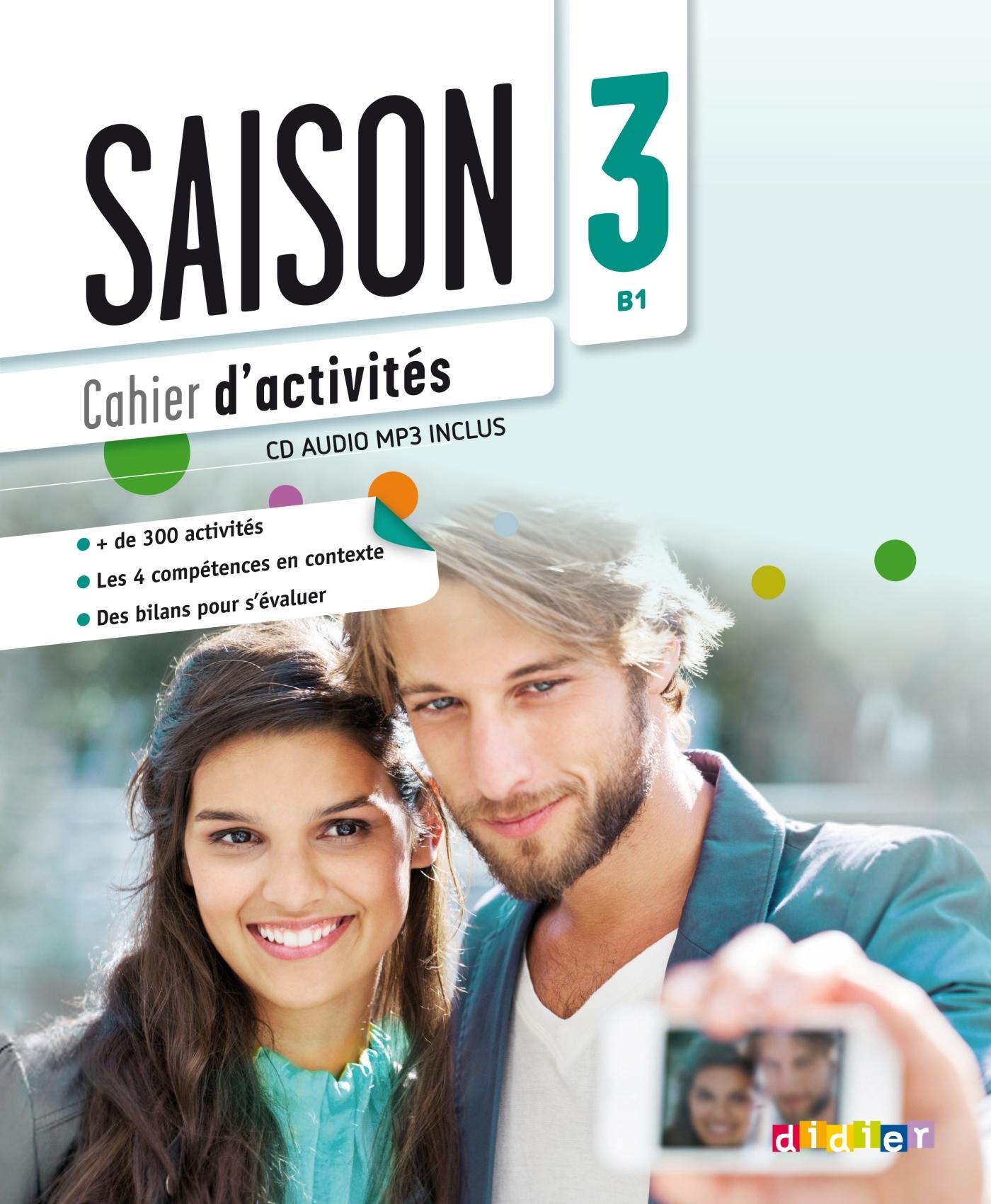 SAISON 3 NIV.B1 - CAHIER + CD MP3