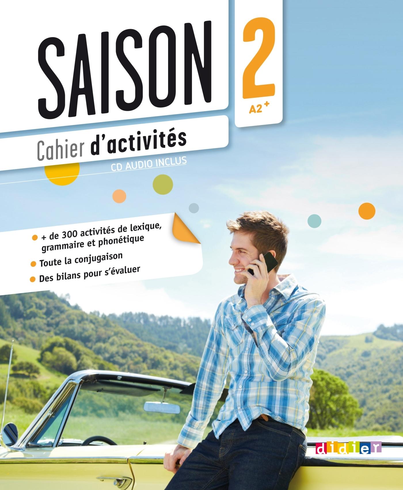 SAISON 2 NIV A2+ - CAHIER + CD AUDIO