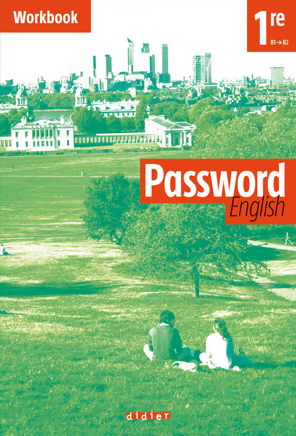 PASSWORD ENGLISH 1RE - WORKBOOK (CAHIER)
