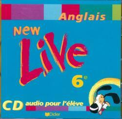 NEW LIVE 6E LV1 - CD AUDIO ELEVE
