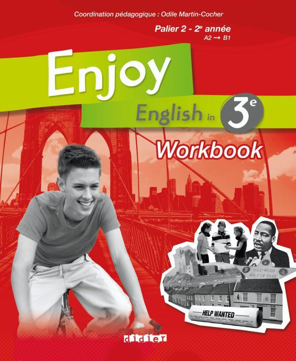 ENJOY ENGLISH 3E - WORKBOOK - VERSION PAPIER