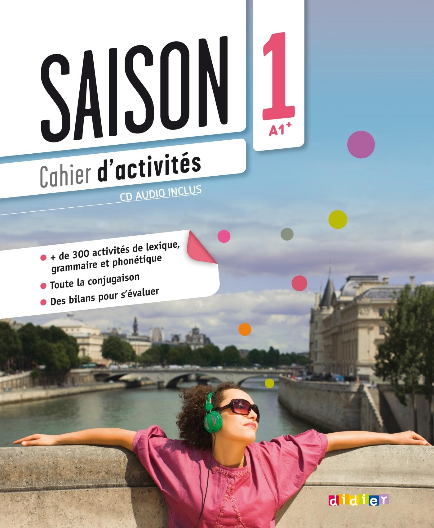 SAISON 1 NIV.1 - CAHIER + CD