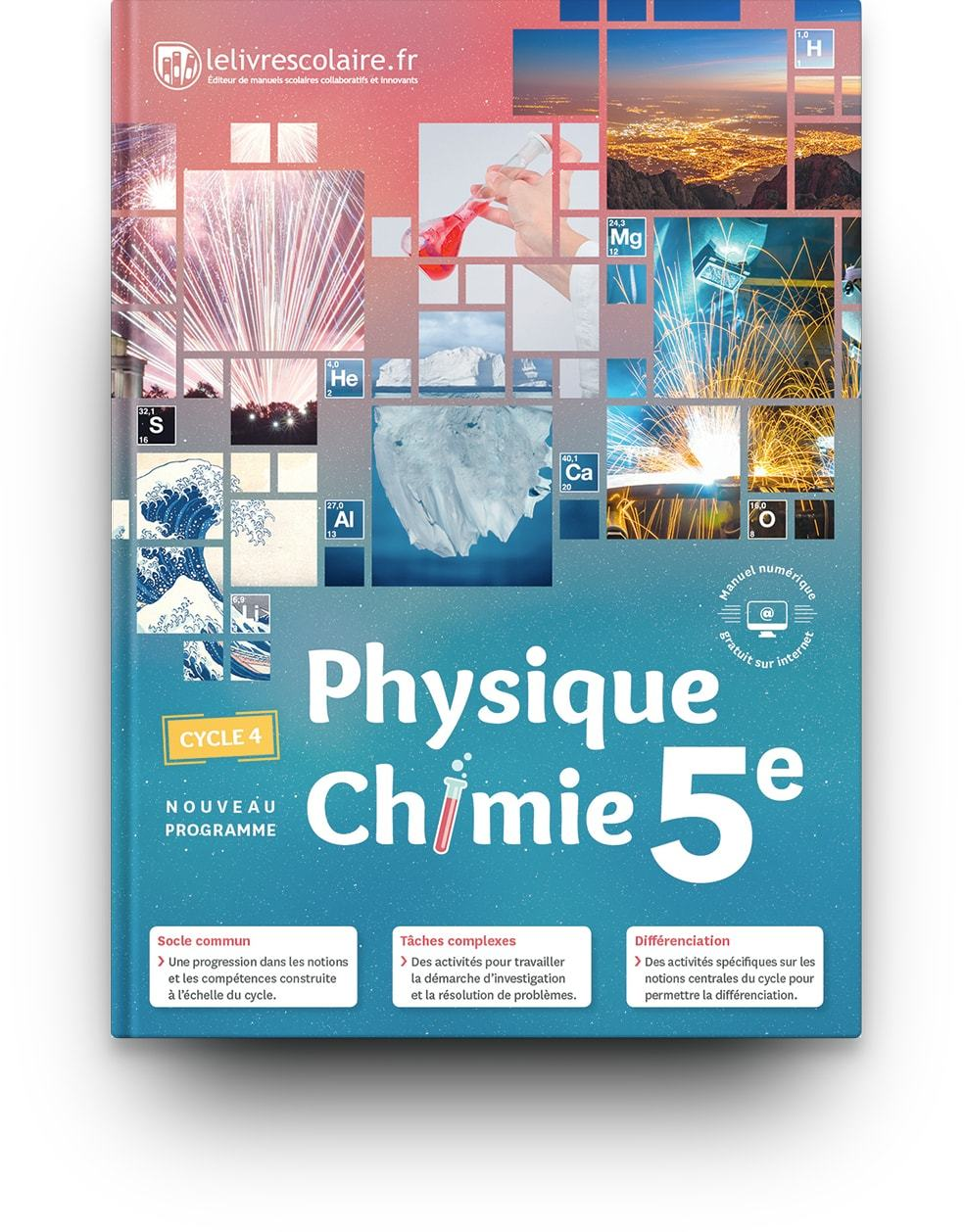PHYSIQUE-CHIMIE 5E, EDITION 2017