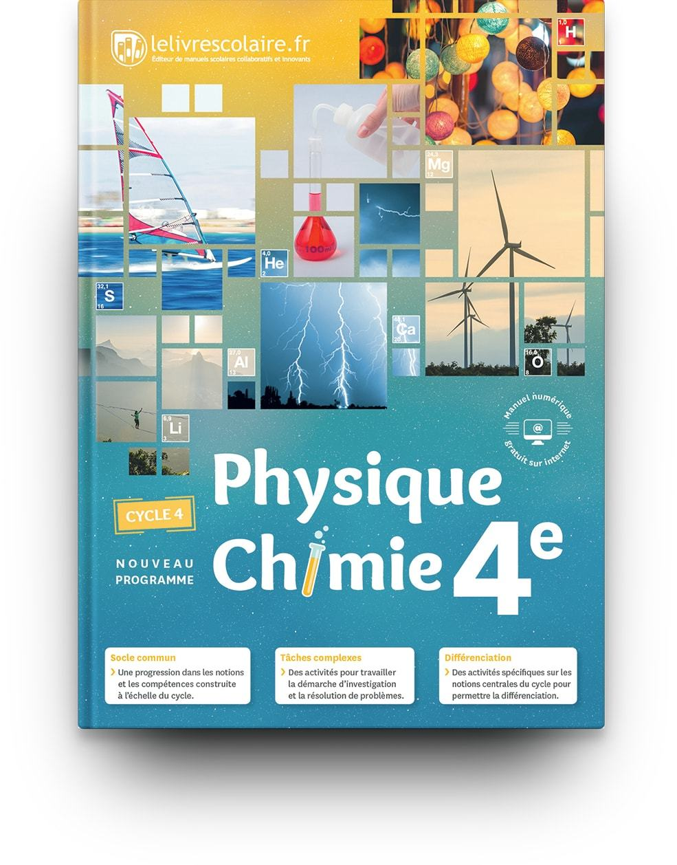 PHYSIQUE-CHIMIE 4E, EDITION 2017