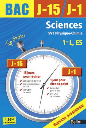 SCIENCES 1E L ES NED 2013