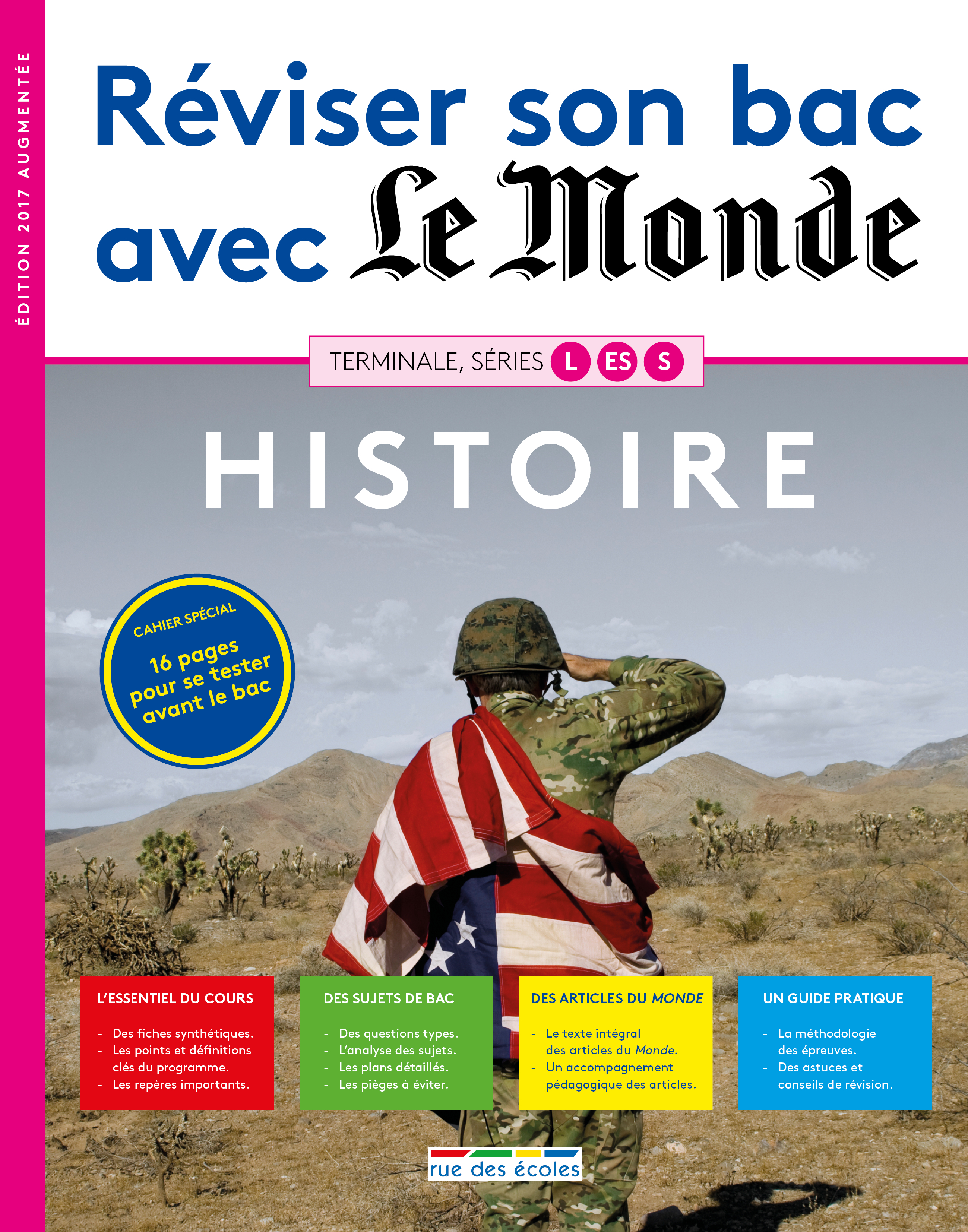 REVISER SON BAC ABEC LE MONDE HISTOIRE TERMINALE L ES S 2017 EDITION AUGMENTEE