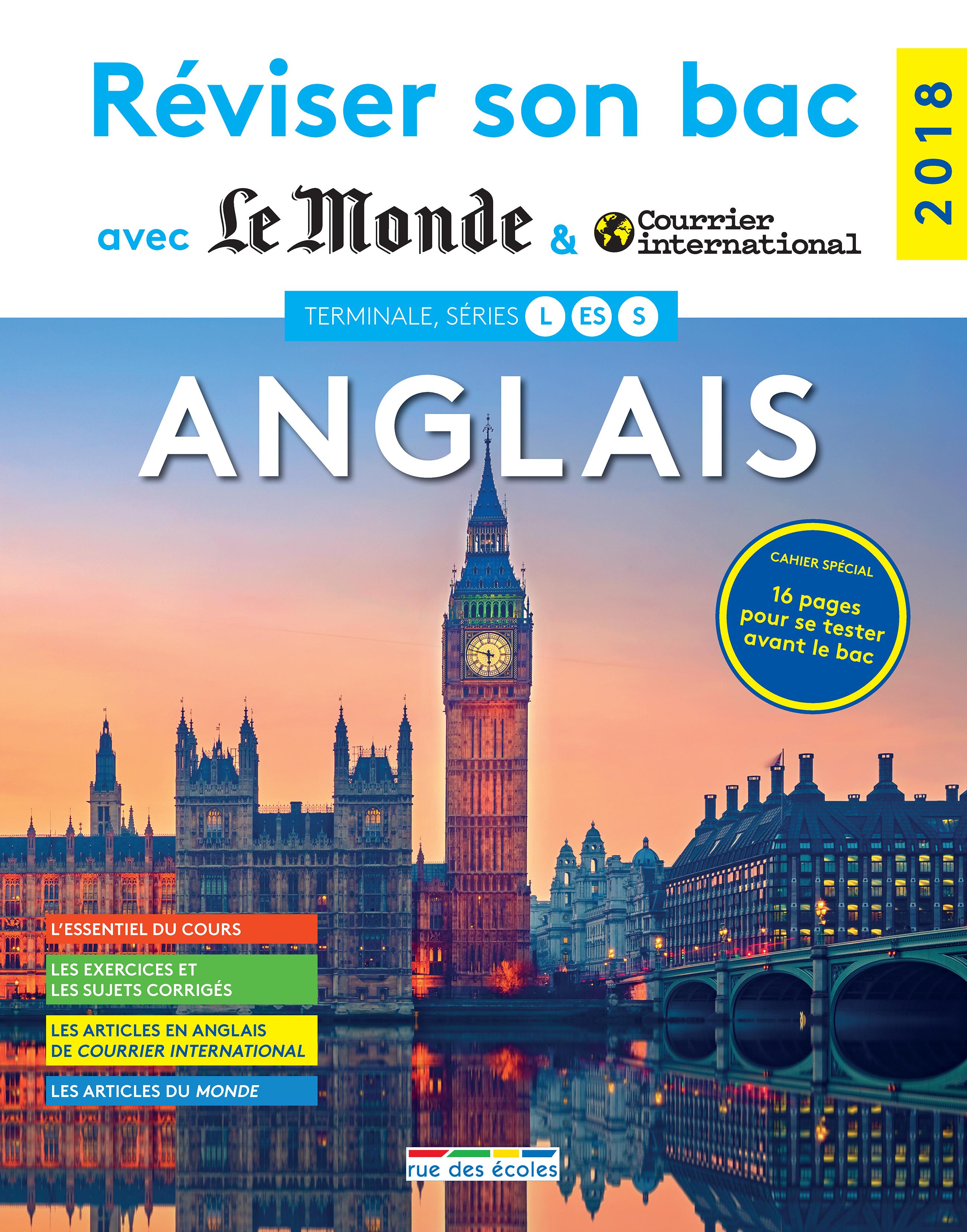 REVISER SON BAC AVEC LE MONDE : ANGLAIS 2018