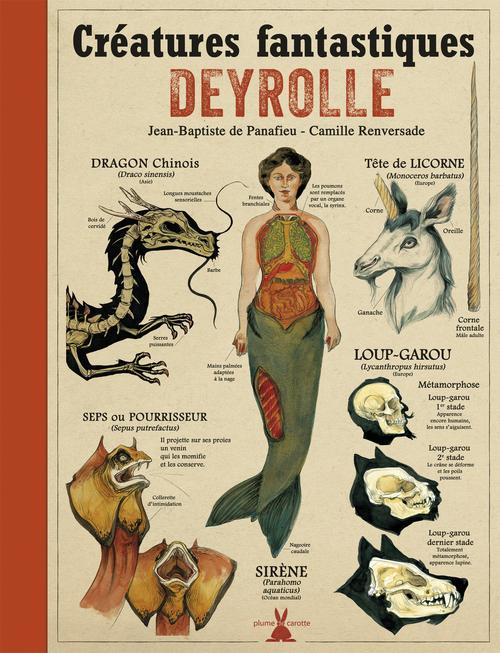CREATURES FANTASTIQUES DEYROLLE