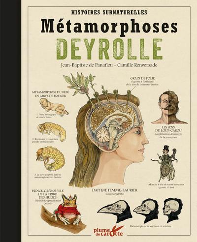 METAMORPHOSES DEYROLLE - HISTOIRES SURNATURELLES