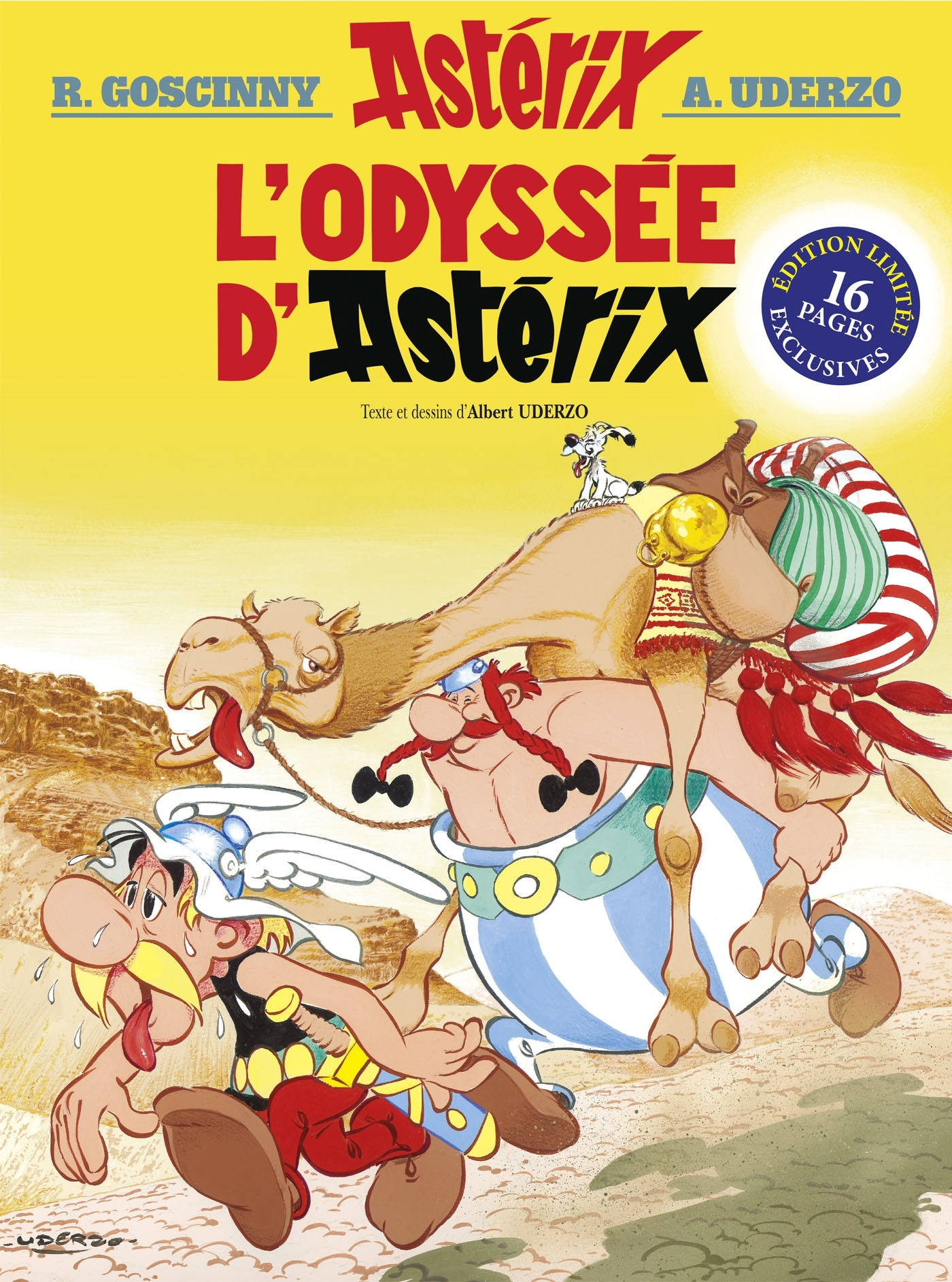 ASTERIX - L'ODYSSEE D'ASTERIX - N 26 - EDITION SPECIALE