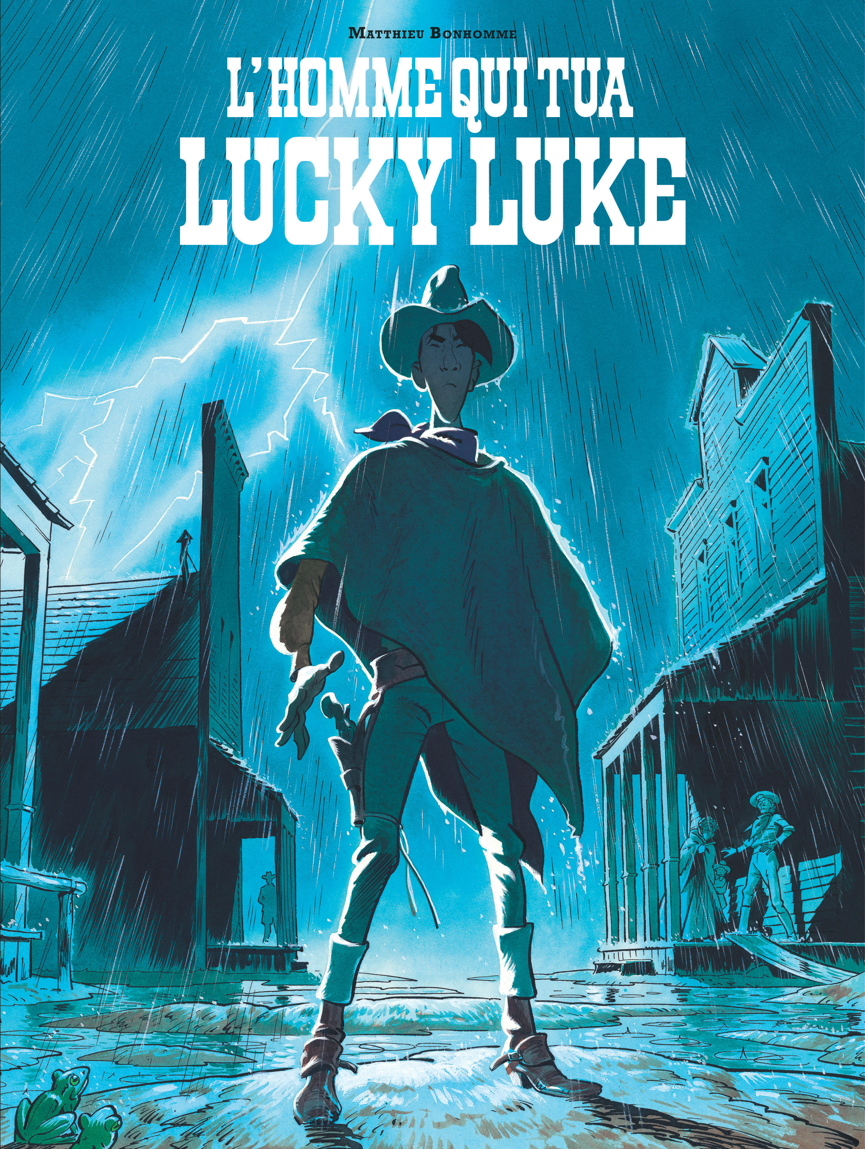 HORS COLLECTION LUCKY LUKE L'HOMME QUI TUA LUCKY LUKE