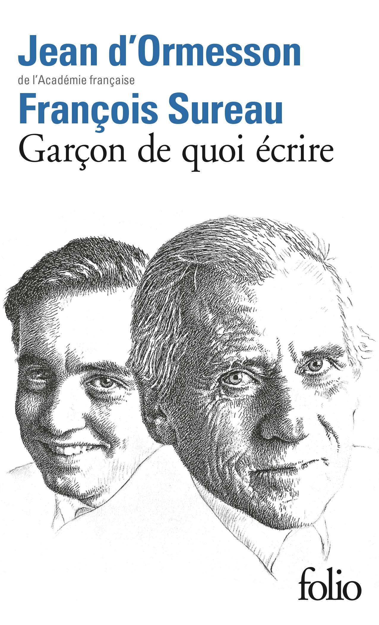 GARCON DE QUOI ECRIRE