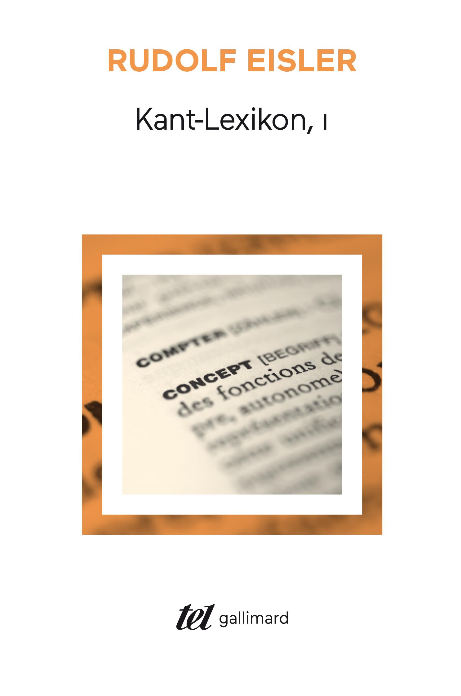 KANT-LEXIKON T1