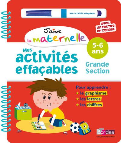 ACTIVITES EFFACABLES GS