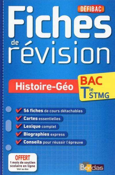 DEFIBAC FICHES DE REVISION HISTOIRE-GEO TERMINALE STMG