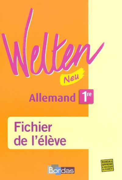 WELTEN ALLEMAND 1RE ELEVE 07