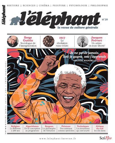 L'ELEPHANT - LA REVUE DE CULTURE GENERALE - NUMERO 20