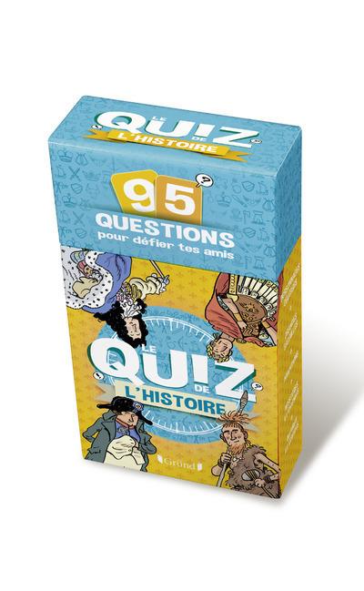 BOITE A QUESTIONS - LE QUIZ DE L'HISTOIRE