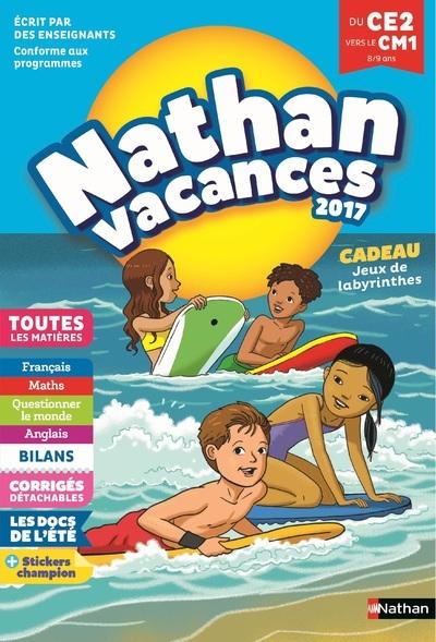 NAHAN VACANCES 2017 PRIMAIRE DU CE2 VERS LE CM1 8/9 ANS