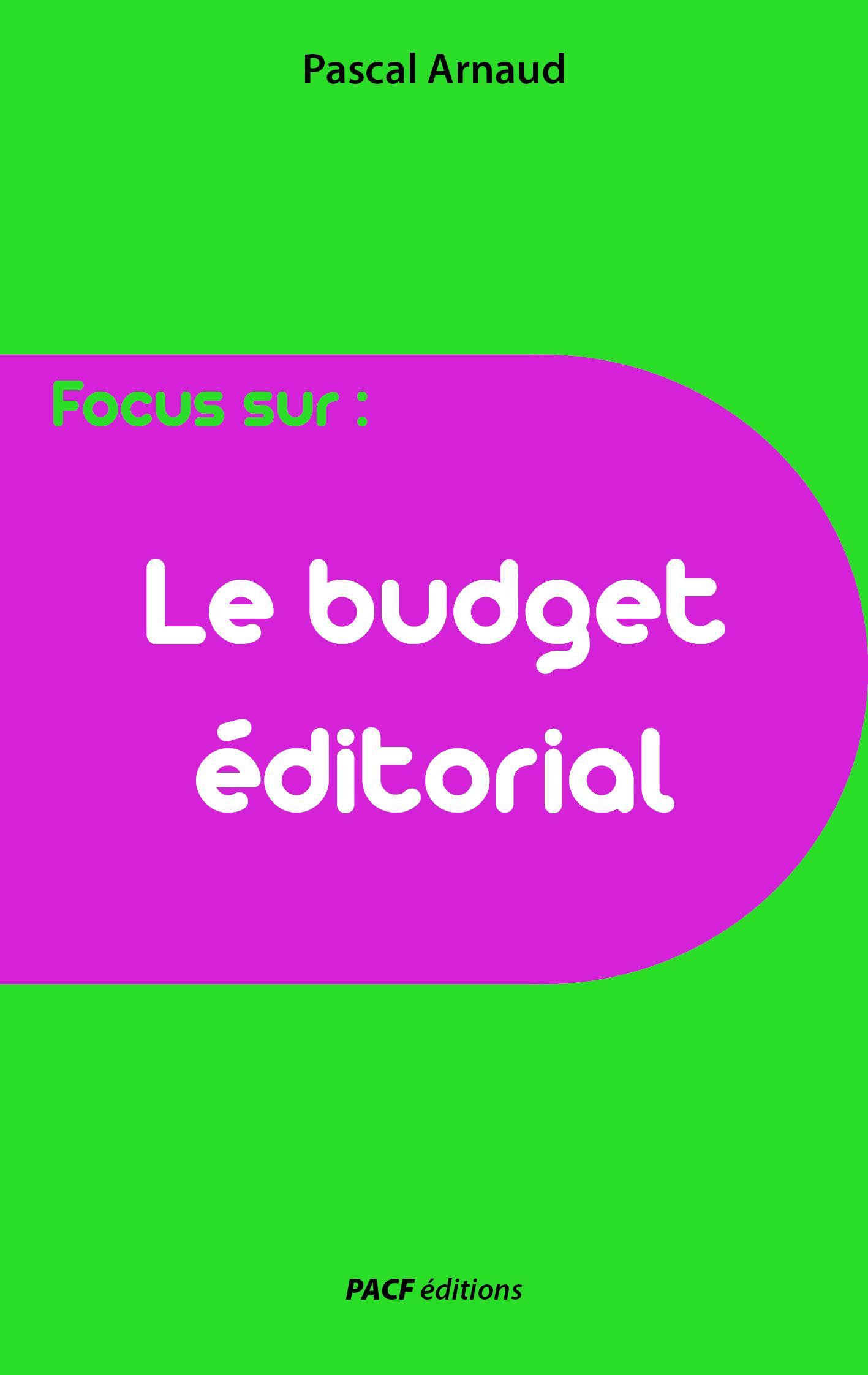 Le Budget éditorial
