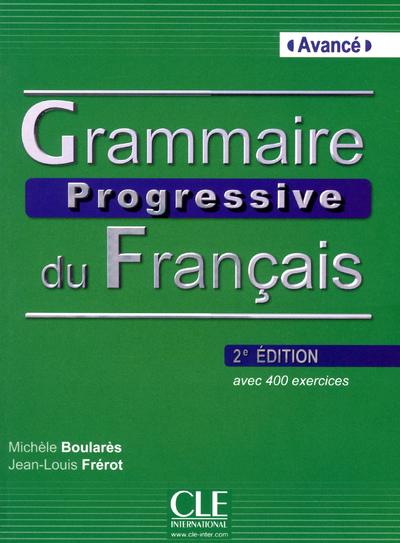 GRAMMAIRE PROGR.AVANCE 2ED +CD
