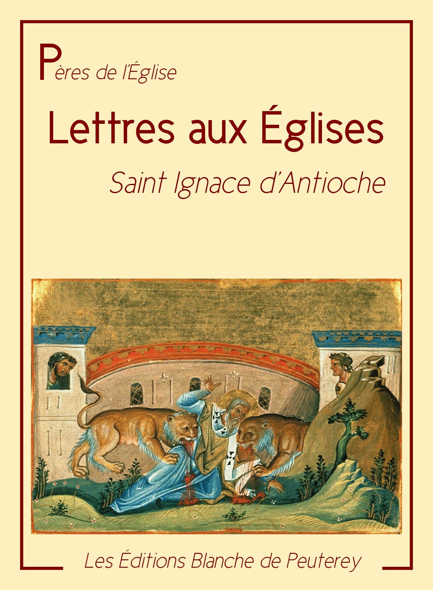 Les lettres aux Eglises