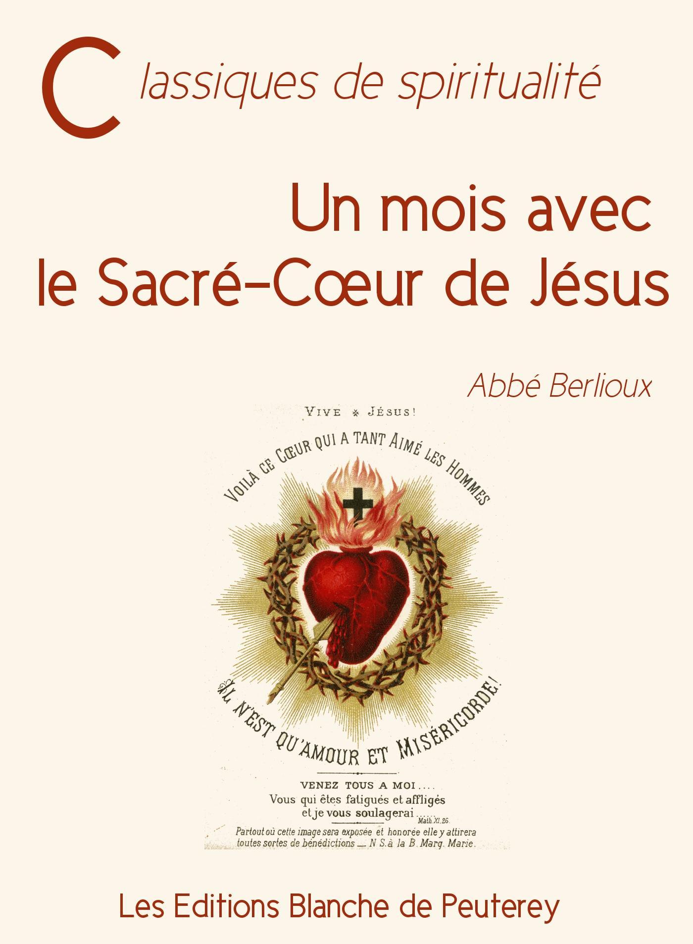 Un mois avec le Sacré-Coeur de Jésus
