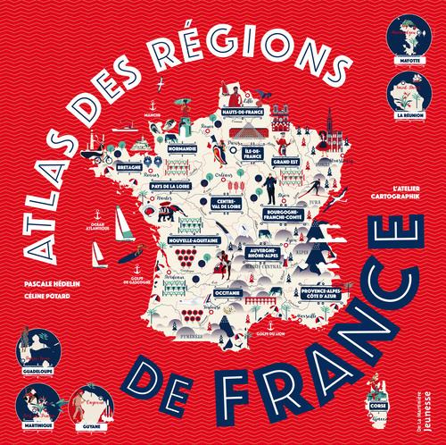ATLAS DES REGIONS DE FRANCE