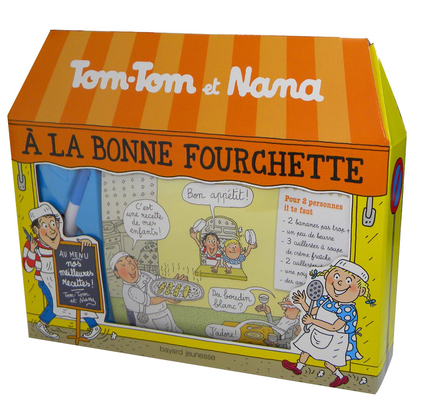 A LA BONNE FOURCHETTE - COFFRET TOM-TOM ET NANA