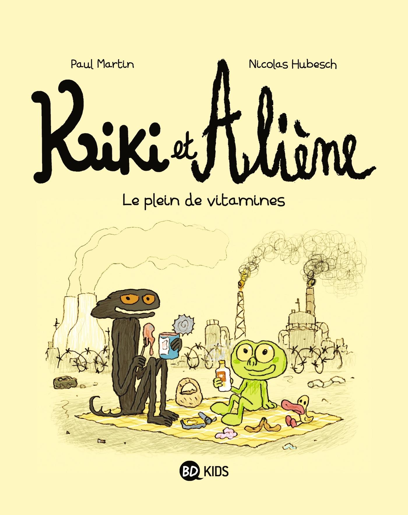KIKI ET ALIENE, TOME 03