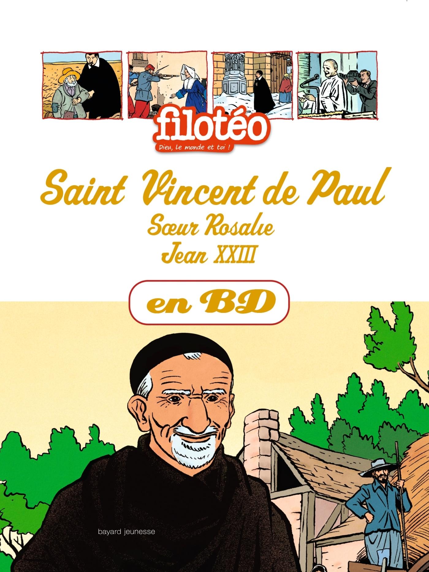 SAINT VINCENT DE PAUL EN BD