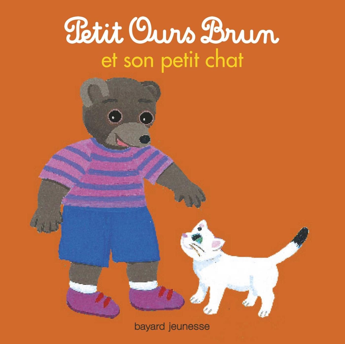 PETIT OURS BRUN, TOUT CARTON - POB  ET SON PETIT CHAT